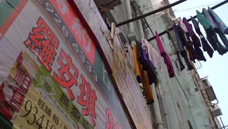Laundry-Hanging-Over-Hong-Kong-Street
