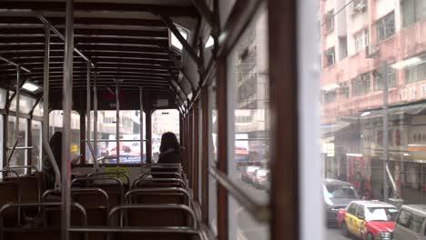 Hong-Kong-Tram-Interior
