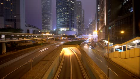 Timelapse-of-Traffic-in-Downtown-Hong-Kong