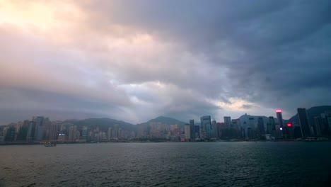 Timelapse-Overlooking-Hong-Kong-Skyline