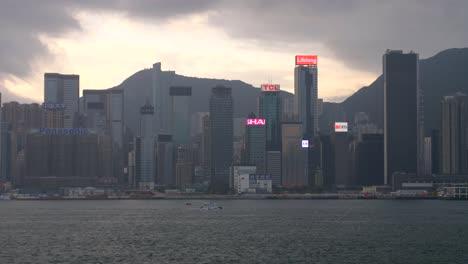 Hong-Kong-Skyline-at-Dusk