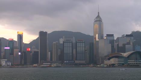 Early-Morning-Hong-Kong-Skyline
