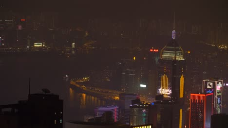 Illuminated-Hong-Kong-Skyline-at-Night