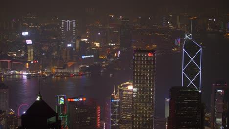 Overlooking-Downtown-Hong-Kong-at-Night