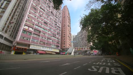 Quiet-Road-in-Urban-Hong-Kong