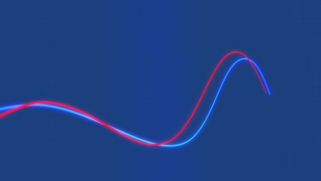 Looping-MACD-Chart-on-Blue-Background