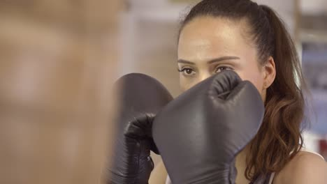 CU-of-Female-Boxers-Face