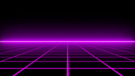 Glowing-Purple-Grid-Lines-Tracking-In