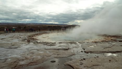 Strokkur-Geyser-Eruption