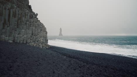Overcast-Black-Sand-Beach