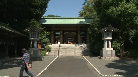 Wide-Shot-of-Temple-in-Japan