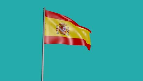 3D-Flag-of-Spain