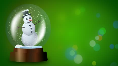 4K-Snowglobe-Green-Loop