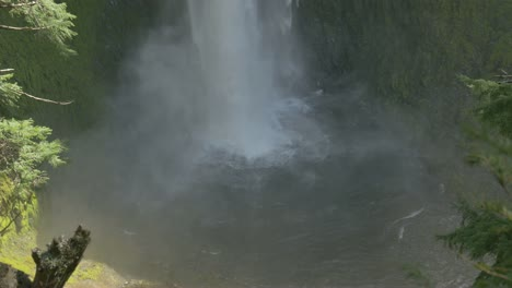 Waterfall-Pool-and-Mist