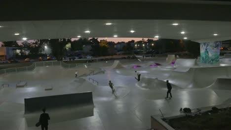 Skatepark-at-Dusk