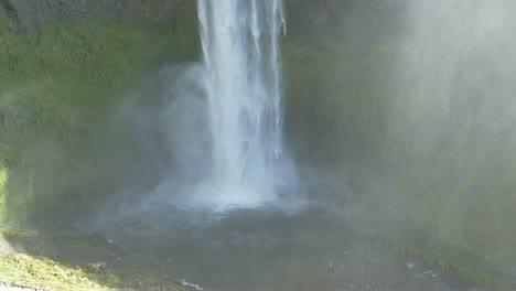 Waterfall-Tilt-Shot