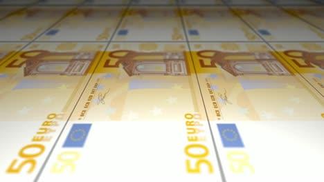 Printing-50-Euro-Bank-Notes