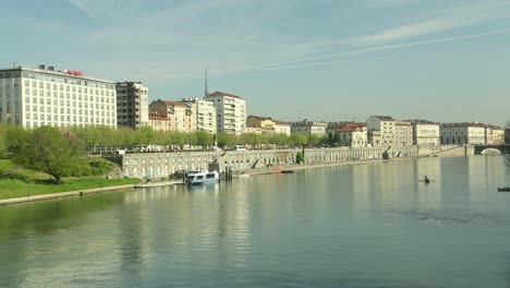 Turin-Italy---River-Po-and-Buildings