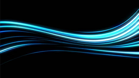 Abstract-Blue-Light-Streaks