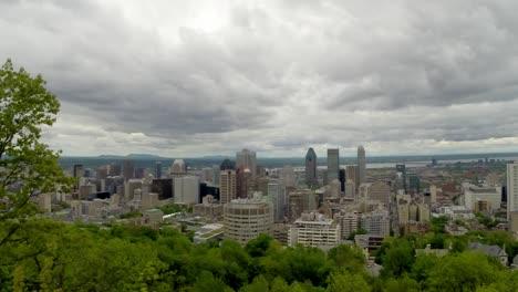 Montreal-Timelapse-Belvedere-du-Chalet
