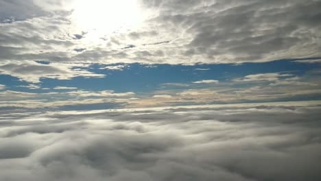 Flying-Between-The-Clouds