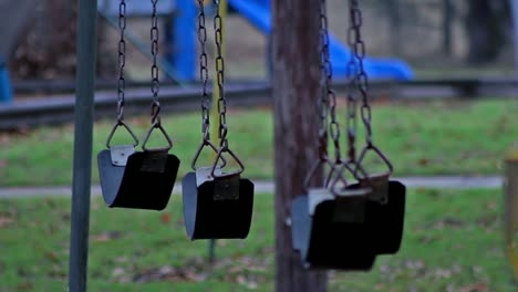 Bleak-Abandoned-Park-Swings-(Close)