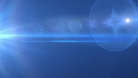 Blue-Flares-Background