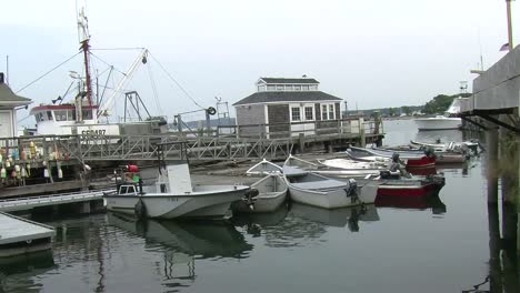 Boats-in-a-New-England-Harbor