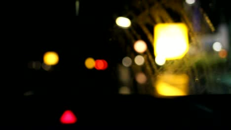Bokeh-Night-Driving