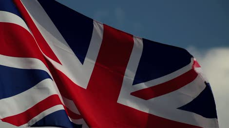 British-Flag-with-Blue-Sky