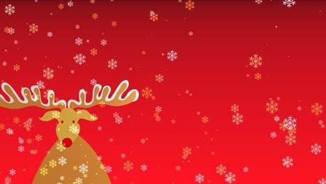 Christmas-Rudolf