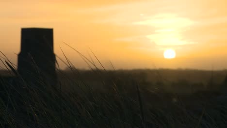 Church-with-Sunset-in-Norfolk