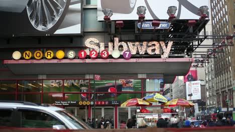 New-York---Times-Square-Subway-Entrance