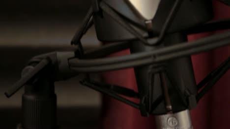 Large-Condenser-Microphone-(Close-Up-Tilt-Shot)