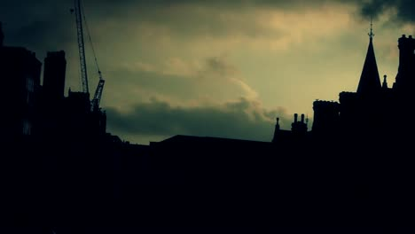 Building-Silhouettes-and-Clouds