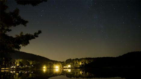 Day-to-Night-Time-Lapse-Lake-and-Stars