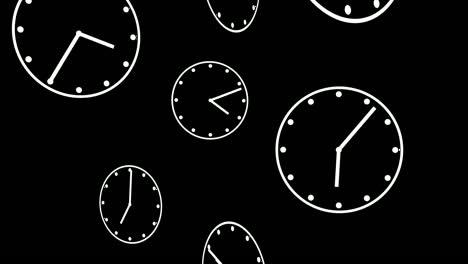 Falling-Clocks-Matte-Loop