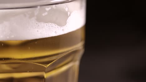 Glass-of-Beer-on-Black-Background