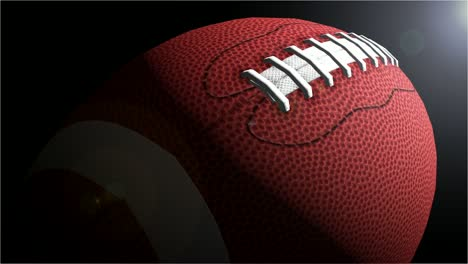 American-Football-Slow-Rotate