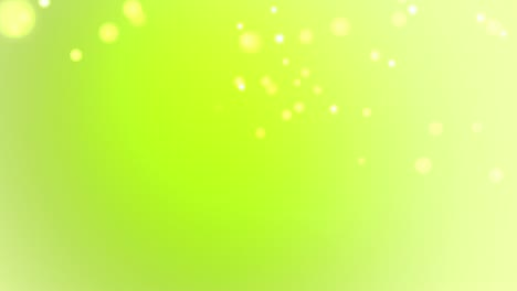 Fresh-Green-Particle-Background
