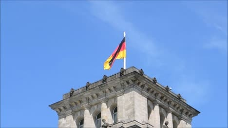 German-Flag-near-Reichstag