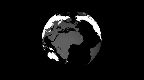 Globe-Rotate-and-Unfold-Matte