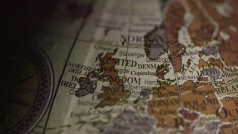 Vintage-Globe-Europe