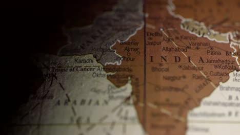 Vintage-Globe-India