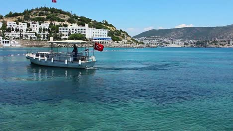 Bodrum-Water-Taxi-Leaving