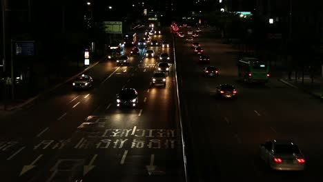 Night-Traffic-South-Korea