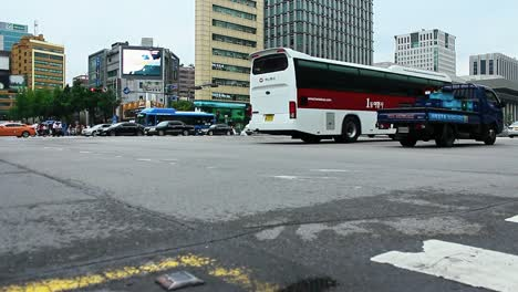 Seoul-South-Korea-Low-Traffic-Shot