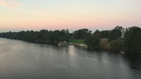 River-Sunset