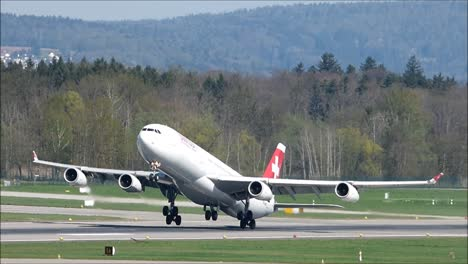 Swiss-Aircraft-Taking-Off