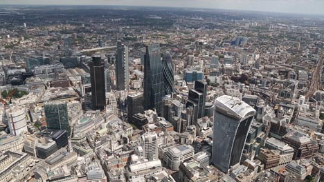 London-Aerial-Skyscrapers
